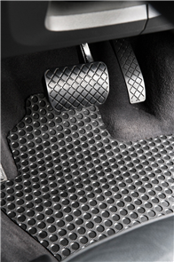 Mercedes SL Class (LHD R107) 1971-1989 Heavy Duty Rubber Car Mats