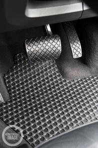 Tesla Model X 6 Seater (No Centre Console) 2016 Onwards Heavy Duty Rubber Car Mats