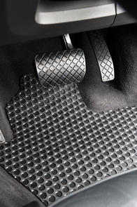Jeep Wrangler (4th Gen JL) 2018 onwards Heavy Duty Rubber Car Mats