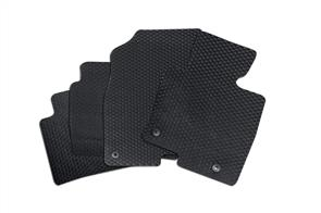 Heavy Duty Rubber Car Mats to suit Saab 9-3 Convertible 2003-2014