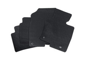 Heavy Duty Rubber Car Mats to suit Ford Transit Custom Sport (320S SWB) 2020+