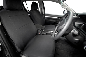 Mitsubishi Triton Single Cab (5th Gen GLX GLS) 2015 onwards Neoprene Seat Covers