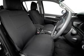 Neoprene Seat Covers to suit Toyota Hilux Double Cab (8th Gen Auto) 2015+