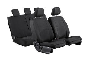Neoprene Seat Covers to suit Ford Transit Custom (SWB 2nd Gen 10 SPD Auto) 2021+
