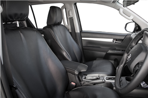 Toyota Hilux Extra Cab (8th Gen Automatic) 2015+ PVC Leatherette Seat Covers
