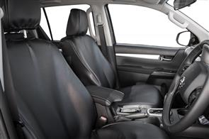 Isuzu D-Max Spacecab (2nd Gen Facelift) 2014 onwards PVC Leatherette Seat Covers
