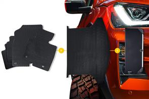 Rubber Mats Bundle to suit Jeep Commander (XH 5 Seat) 2006-2010