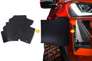 Rubber Mats Bundle to suit Mazda BT-50 Dual Cab (1st Gen) 2006-2011