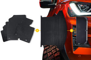 Rubber Mats Bundle to suit BMW 4 Series (G22 Coupe) 2020 onwards