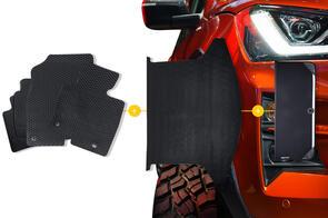 Rubber Mats Bundle to suit Mitsubishi Eclipse Cross PHEV 2021+