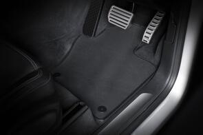 Standard Rubber Mats to suit Mazda BT50 Extra Cab (3rd Gen) 2020+