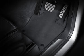 Standard Rubber Car Mats to suit Honda Odyssey (4th Gen 8 Seat) 2009-2014