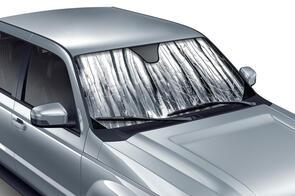 Tailored Sun Shade to suit Hyundai Santa Fe (2nd Gen 7 Seat) 2006-2009