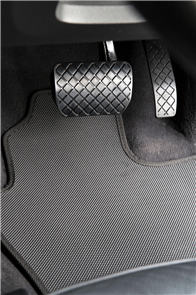 Isuzu N-Series Elf (Wide Cab Auto) 2006 onwards All Weather Rubber Car Mats-Full Set