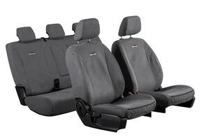 TUFFSEAT 12oz Canvas Seat Covers to suit Ford Ranger XLT/XLS (Double Cab PXIII PXIII) 2019 onwards