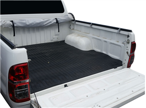Isuzu D-Max Double Cab (2nd Gen Facelift) 2014 onwards Rubber Ute Mat (No Tuff Deck)