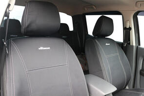 Holden Colorado RG Facelift (Space/King Cab) 2015 onwards WETSEAT NeoPrene Seat Covers Black