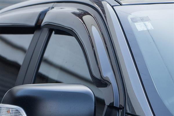 Tinted Door Visors to suit Foton Tunland 2012 onwards