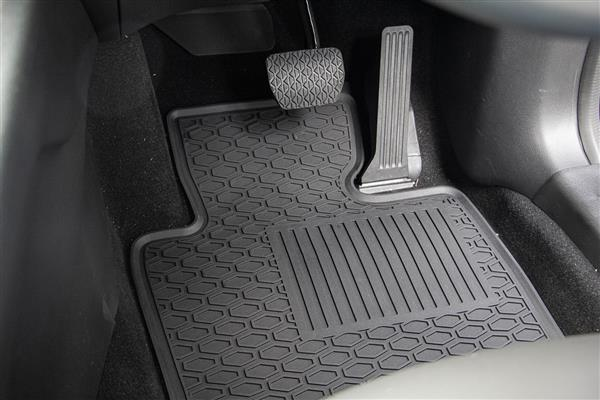 Lipped All Weather Rubber Car Mats to suit Toyota RAV4 (5th Gen) 2019+