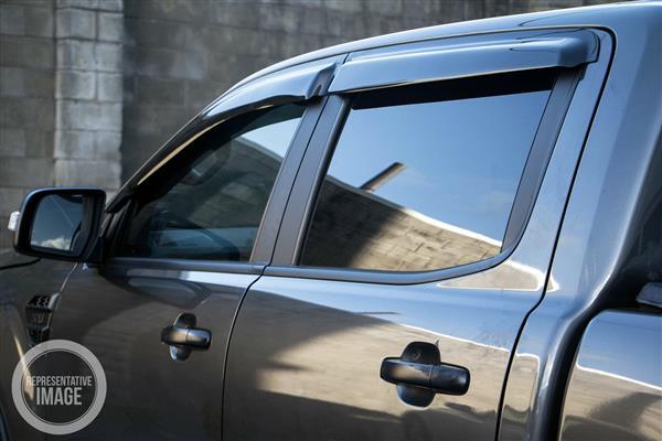 Ford Ranger (Double Cab PK) 2009-2011 Door Visors Double Cab (4 piece set)