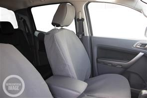 12oz Canvas Seat Covers Rear Seats to suit Toyota Landcruiser Prado (90 Series) 1996-2002