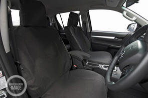 Hyundai iMAX Van (8 Seat) 2009 Onwards 12oz Canvas Seat Covers Rear Seats
