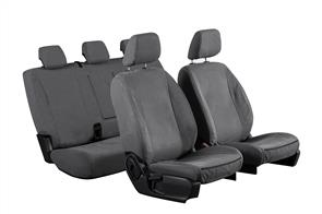 12oz Canvas Seat Covers to suit Mazda 2 Hatch (3rd Gen) 2007-2014