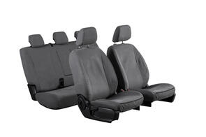 12oz Canvas Seat Covers to suit Mitsubishi Fuso Fighter (Wide Cab) 1992+