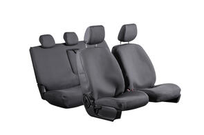 8oz Canvas Seat Covers to suit Toyota Hilux Double Cab (6th Gen) 1998-2005