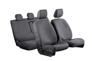 8oz Canvas Seat Covers to suit Toyota Landcruiser Prado (J150 F/Lift 5 Seat) 2012+