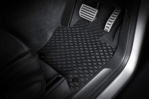 All Weather Rubber Car Mats to suit Volkswagen Caddy (4th Gen) 2020+