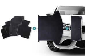 Carpet Mats Bundle to suit Audi A3 Cabriolet (2nd Gen) 2008-2012