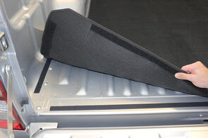 Carpet Ute Mat (No Tuff Deck) to suit Holden Colorado Double Cab (2nd Gen) 2012-2015