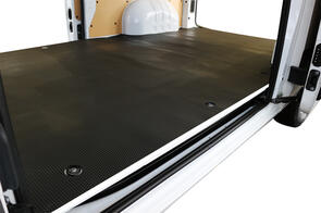 Rubber Cargo Liner (Dome TPR) to suit Ford Transit Custom Crewvan 2018+