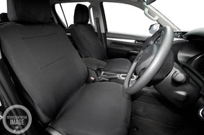 Neoprene Seat Covers to suit Toyota Hiace ZX (SLWB) 2019+