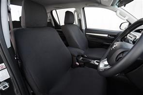 Citroen C3 (2nd Gen) 2009-2016 Premium Fabric Seat Covers