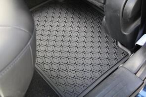 All Weather Rubber Car Mats to suit Volkswagen Transporter Multivan 2011+