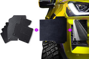 Mixed Mats Bundle to suit Dodge Ram 1500 (4th Gen Quad Cab) 2013-2018