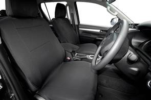 Neoprene Seat Covers to suit Volkswagen Amarok (Facelift Double Cab) 2017+