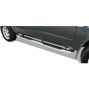 Oval Side Steps to suit Toyota Hilux Double Cab (7th Gen) 2005-2011