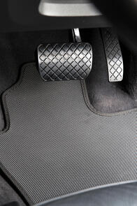 Standard Rubber Car Mats to suit Mahindra Pik-Up Double Cab 2020+