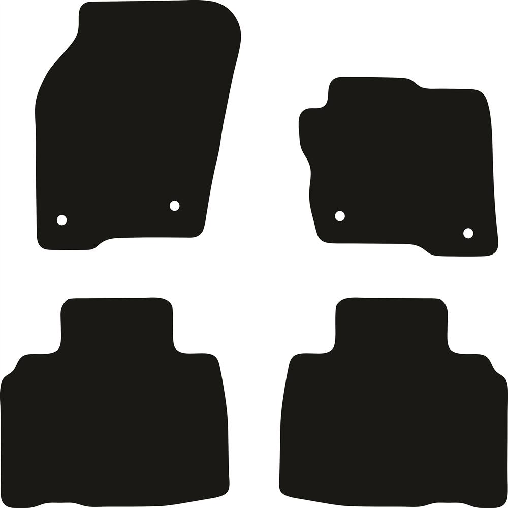 Ford Endura 2018 Onwards All Weather Rubber Car Mats