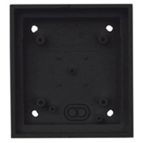 Single On-Wall-Housing for T26B Door Station, Black
