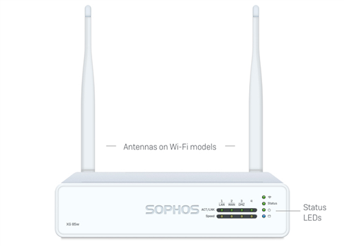 XG 86w Security Appliance, with WiFi