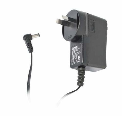 12VDC, 1A Wall Plug Power Adapter, 2.1mm diameter pin, right angle con