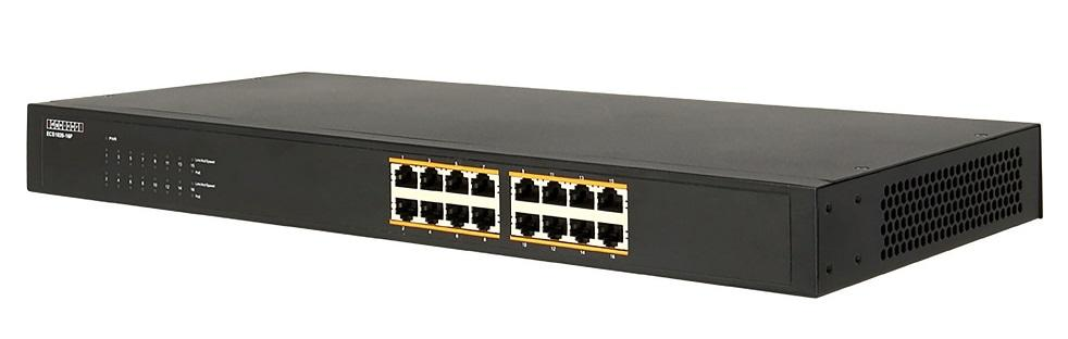 16-Port Gigabit 802.3at/af PoE Switch, Unmanaged, 300W Total PoE Power