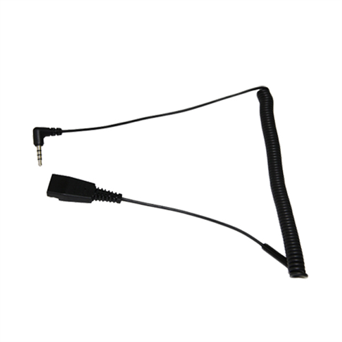 QD to 3.5mm Cord, 4 pole