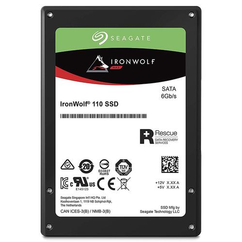 Ironwolf 480GB 2.5in SATA SSD for NAS Applications