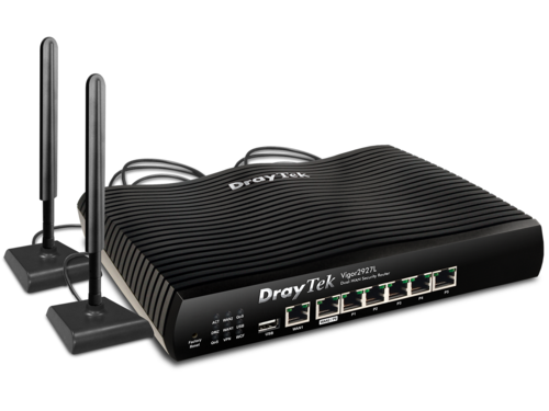 4G Multi-WAN Router/Firewall, IPSec, PPTP, SSL VPN, QoS