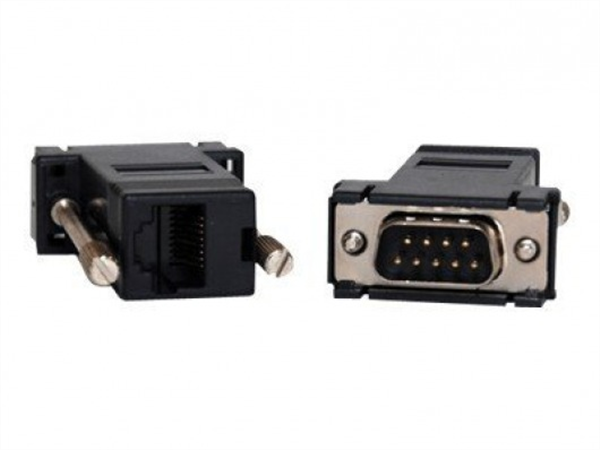 Adapter RJ45-DB9M DTE straight